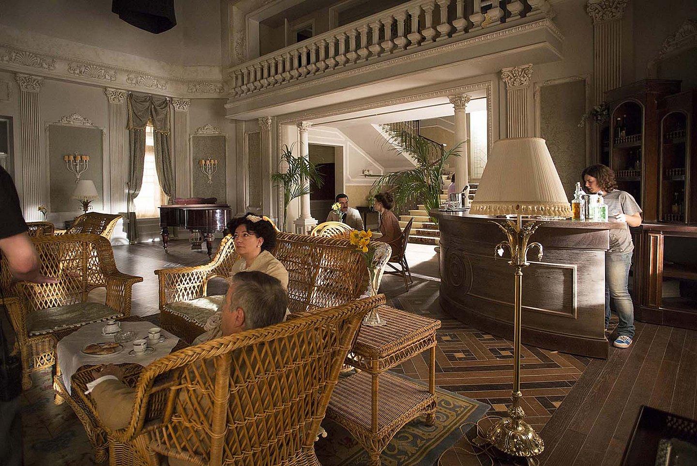 ITALICA serie gran-hotel