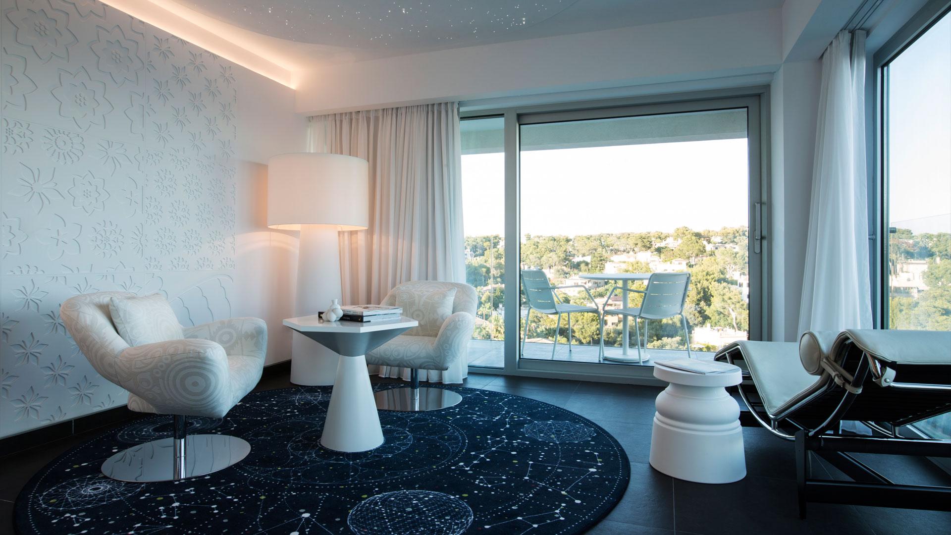 ITALICA PLACAS RELIEVE HOTEL MARCEL WANDERS EN MALLORCA