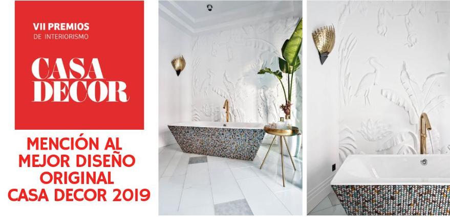 premio mejor diseño casadecor 2019 ITALICA DECORACIONES
