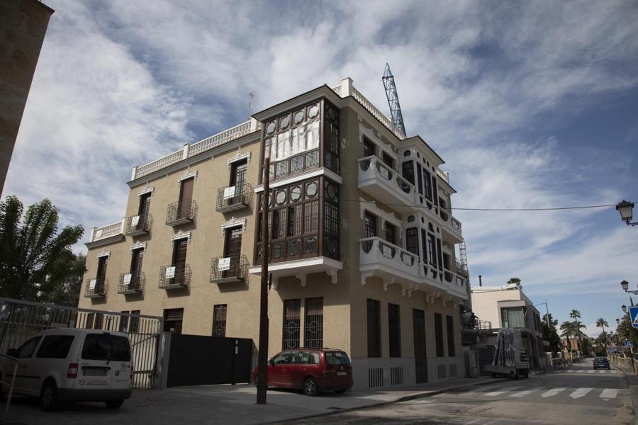 fachada restaurada